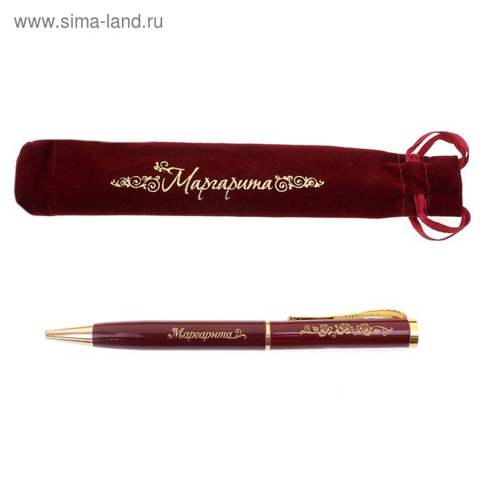 """Ручка """"Маргарита"""", в бархатном мешочке"""