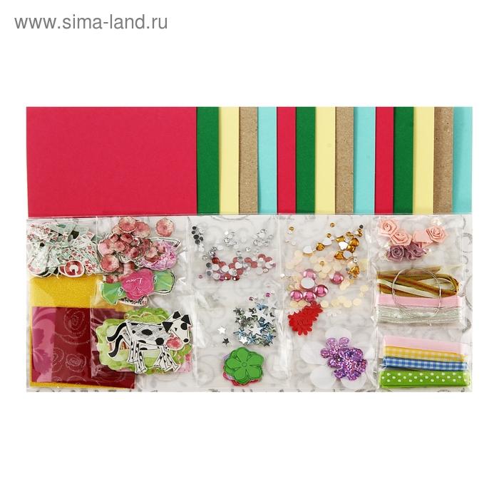 "Набор для творчества ""Цветочки"": 15 открыток, 15 конвертов"