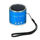 Портативная колонка мини USB/SD WS-398, работает от АКБ, цвета МИКС