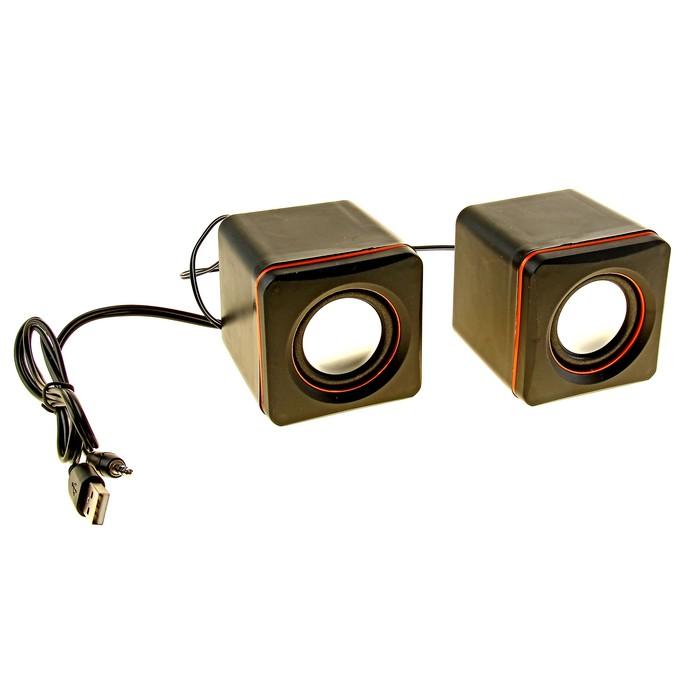 Портативные колонки USB для ПК/разъем 3,5