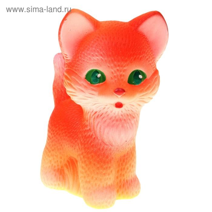 """Резиновая игрушка """"Котёнок Рыжик"""""""
