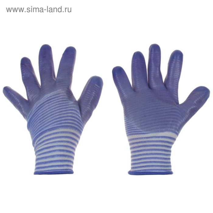 Перчатки текстильные, с PVC пропиткой