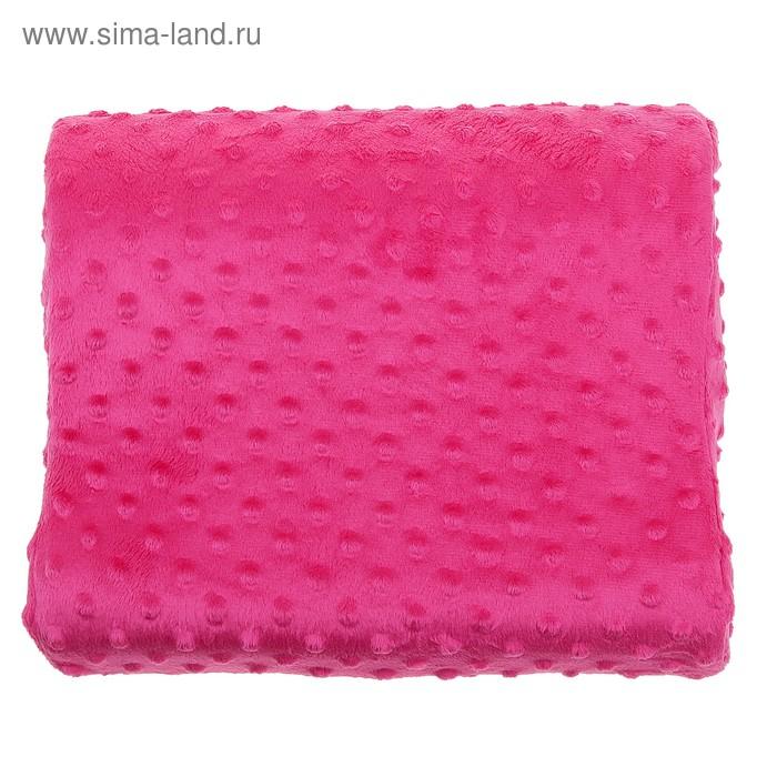 Ортопедическая подушка на спинку кресла Рассвет, розовая