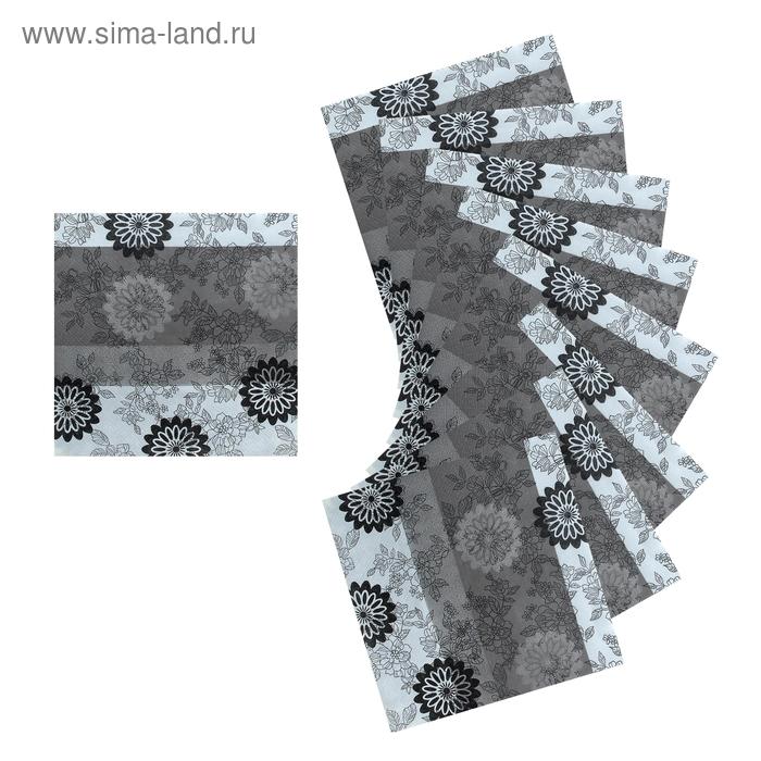 Салфетки бумажные (набор 20 шт) 33*33 см Высокое чувство