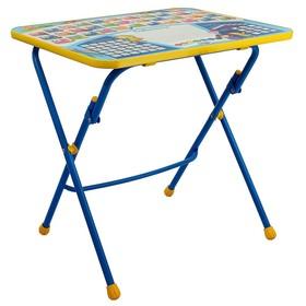 Детский стол от набора мебели 'Никки' складной, с рисунком, МИКС Ош