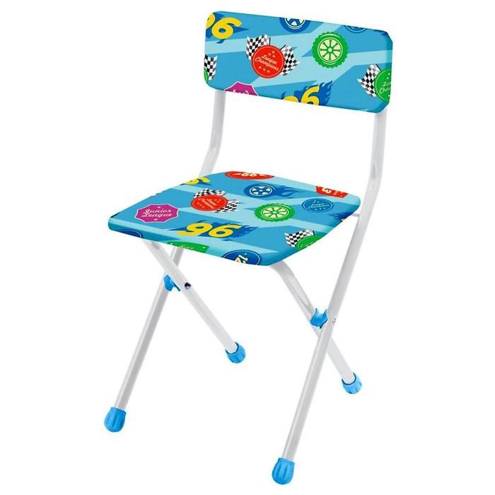 Детский стульчик, мягкий, моющийся, складной, цвета МИКС