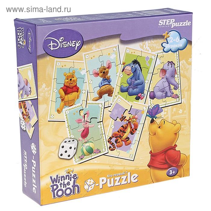 """Настольная игра Disney """"Медвежонок Винни"""" кубик-Puzzle"""