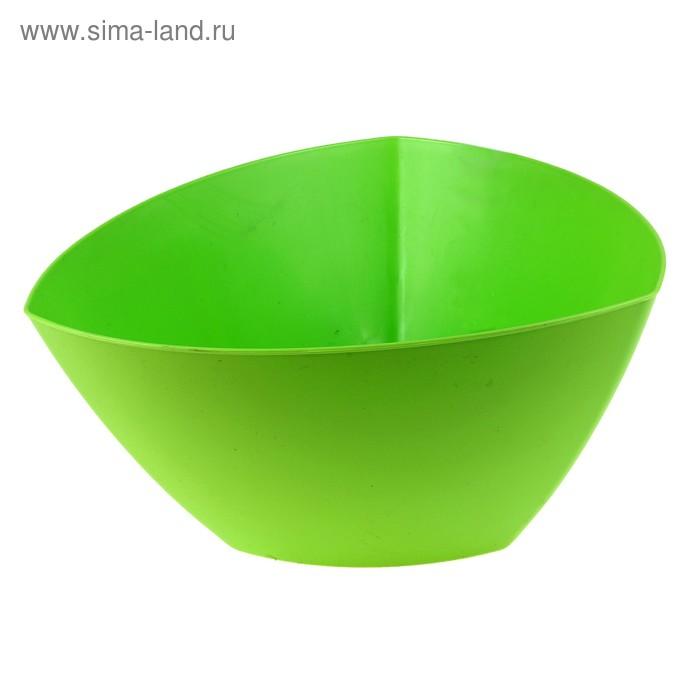 Салатник 4 л, цвет салатовый