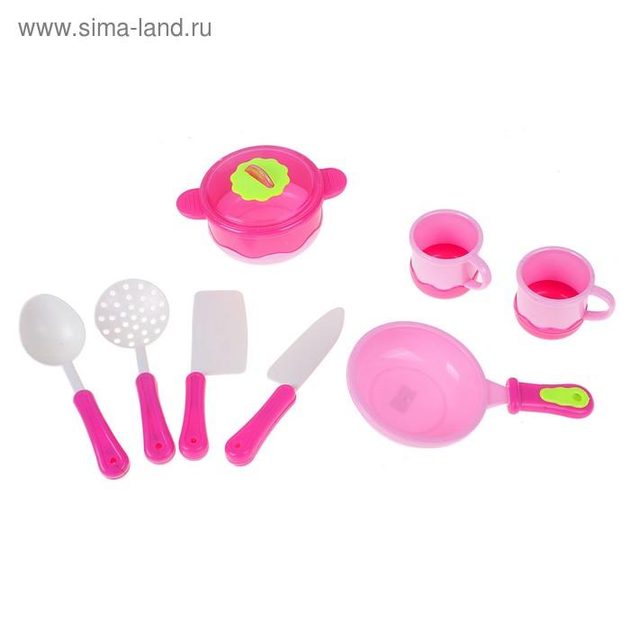 "Набор посуды ""Крошка-хозяюшка"", 8 предметов"