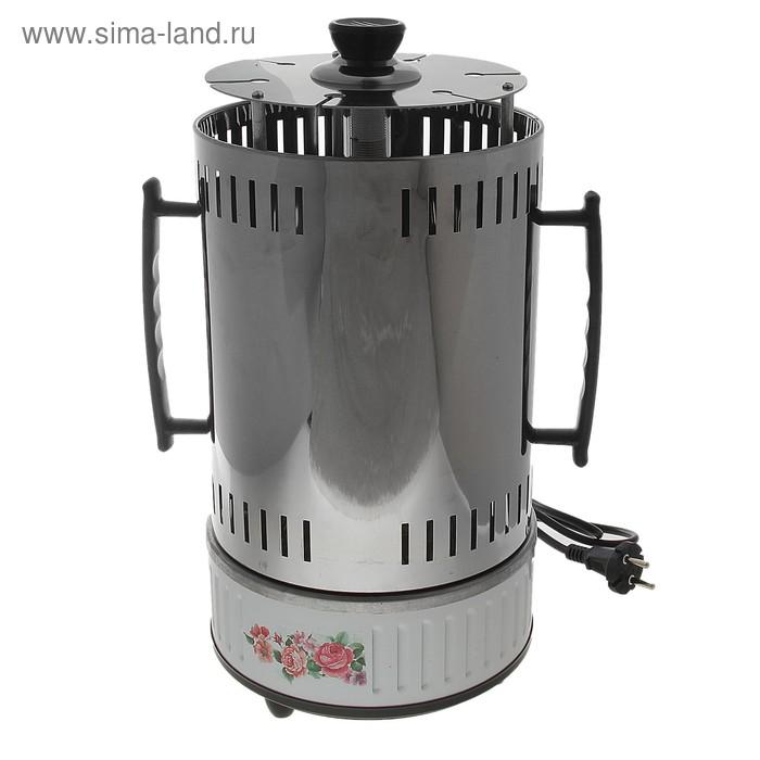 Электрошашлычница, 6 шампуров, 1000Вт (6 чашек для жира) 220V