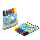 Фломастеры 6 цветов МИНИ Школа талантов-для творчества в сумочке вентилируемый колпачок