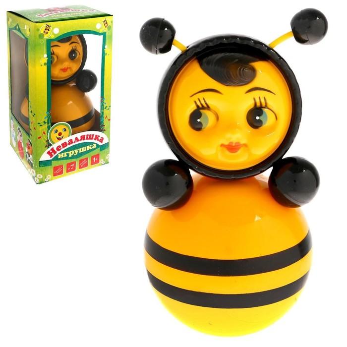 """Неваляшка """"Пчелка"""" в художественной упаковке"""