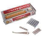 Конструктор металлический №6 для уроков труда, 80 деталей