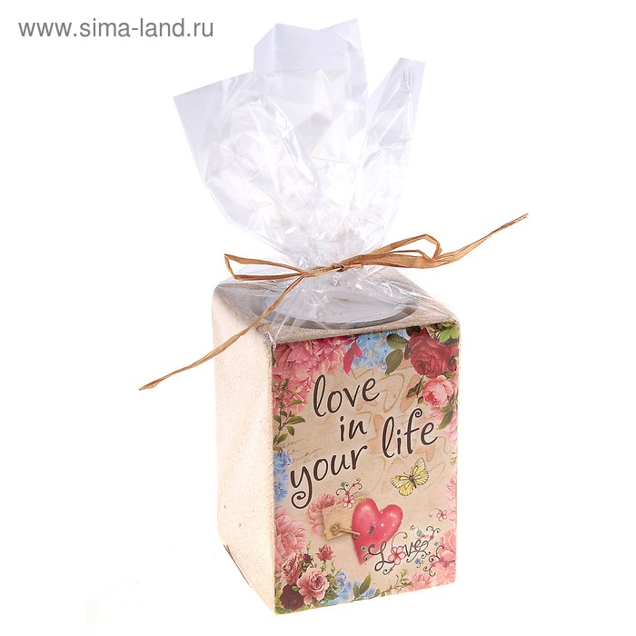 Подсвечник Love in your life, серия Любовь