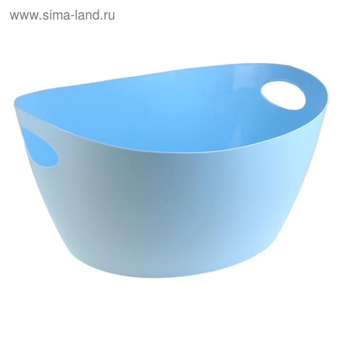 Таз пластмассовый 17 л, цвет голубой