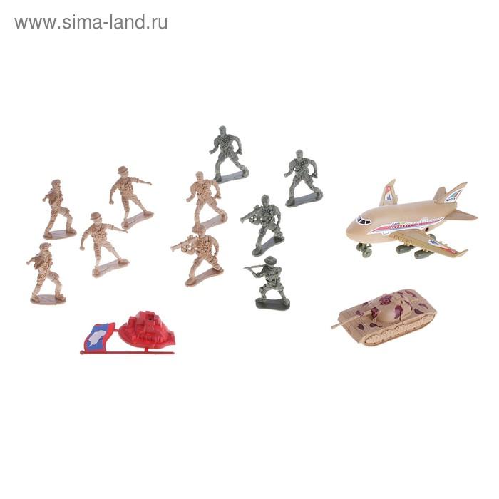 """Набор солдатиков """"Армия"""", с боевой техникой"""