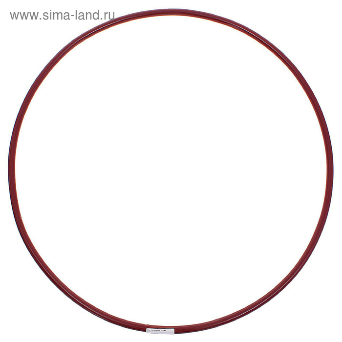 Обруч гимнастический, стальной, d=750 мм, МИКС