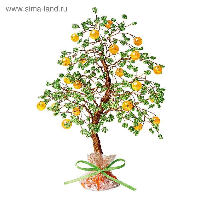 """Набор для творчества """"Апельсиновое дерево"""" Бисерное дерево"""