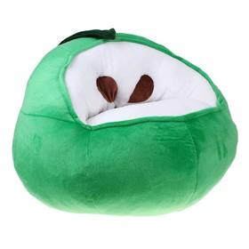 Мягкая игрушка-кресло «Яблоко», цвет зелёный Ош