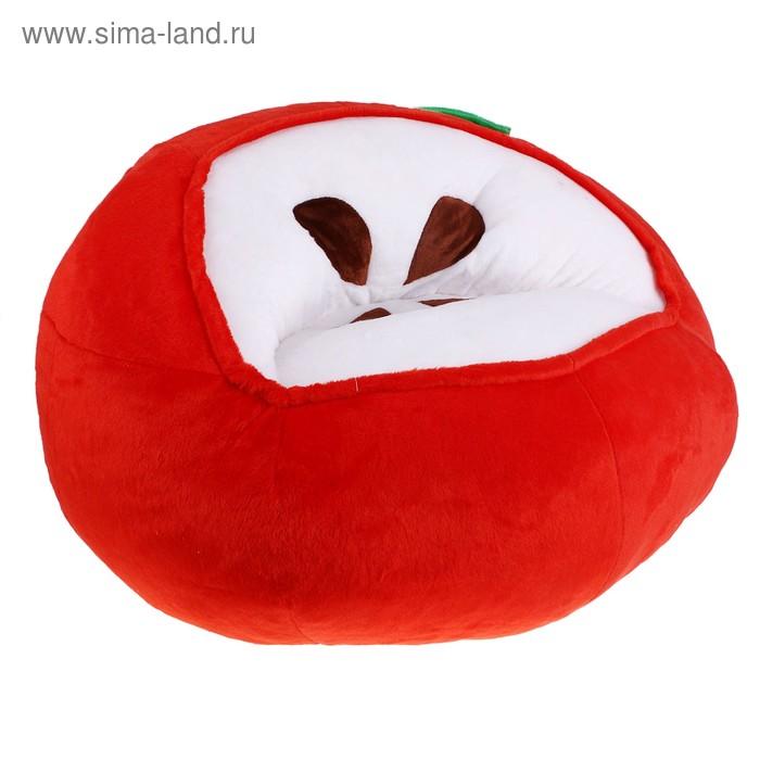 Мягкая игрушка-кресло «Яблоко», цвет красный
