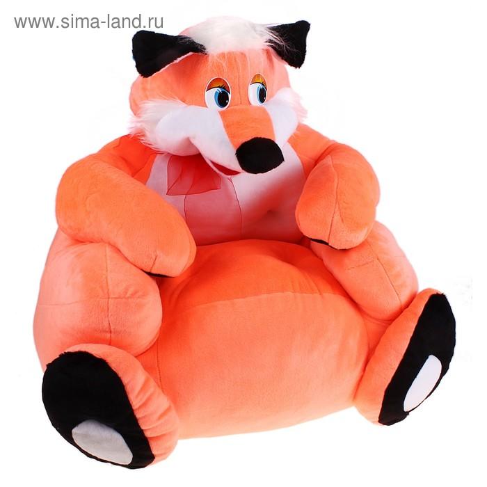 Мягкая игрушка-кресло «Лис»