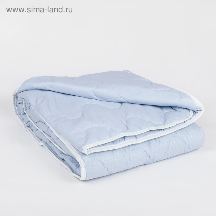 """Одеяло всесезонное Адамас """"Морские водоросли"""", размер 172х205 ± 5 см, 300гр/м2, чехол тик"""