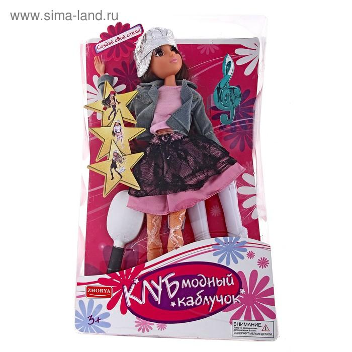 """Кукла шарнирная, """"Клуб модный каблучок"""", в кепке"""
