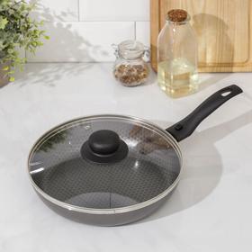 Сковорода с антипригарным покрытием 22 см Discovery с крышкой