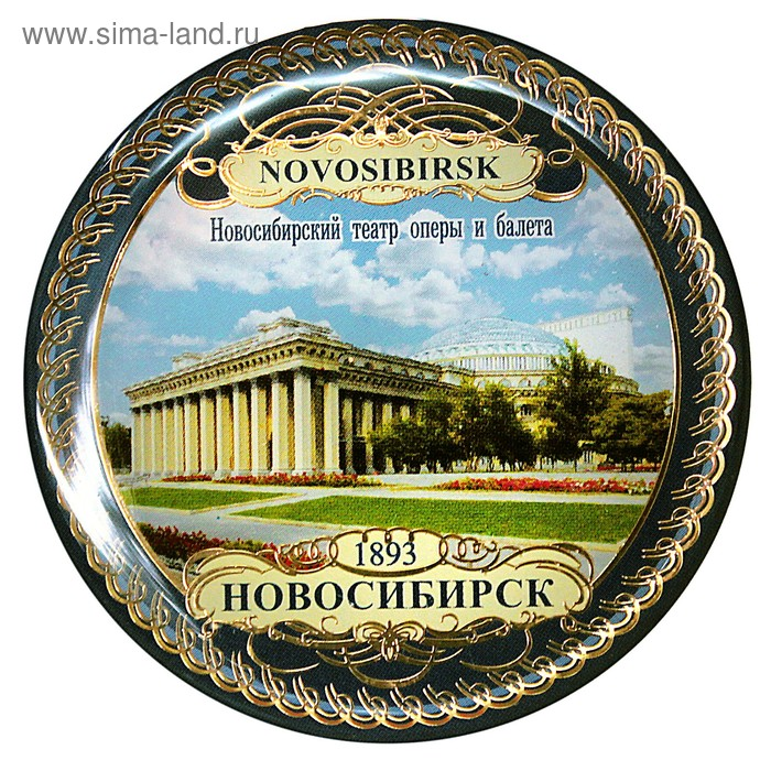 """Магнит """"Новосибирск. Театр оперы и балета- день"""""""