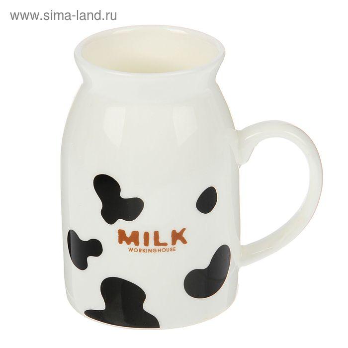 "Кружка 260 мл ""Бидон с молоком"", МИКС"