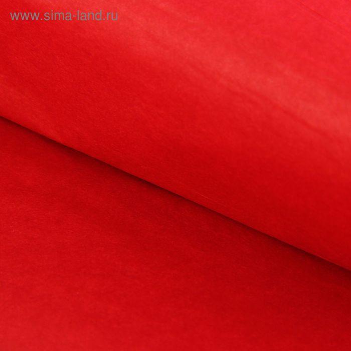 Бумага тишью, красная, 76 х 50 см 10 листов