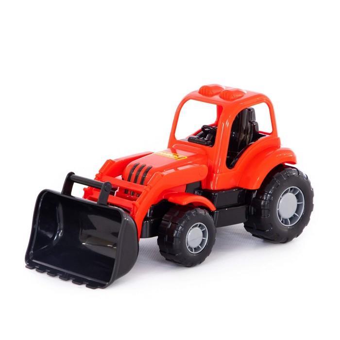 "Трактор-погрузчик ""Крепыш"", цвета МИКС"