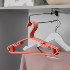 Вешалка-плечики детская, размер 30-34 'Классика', цвет МИКС Ош