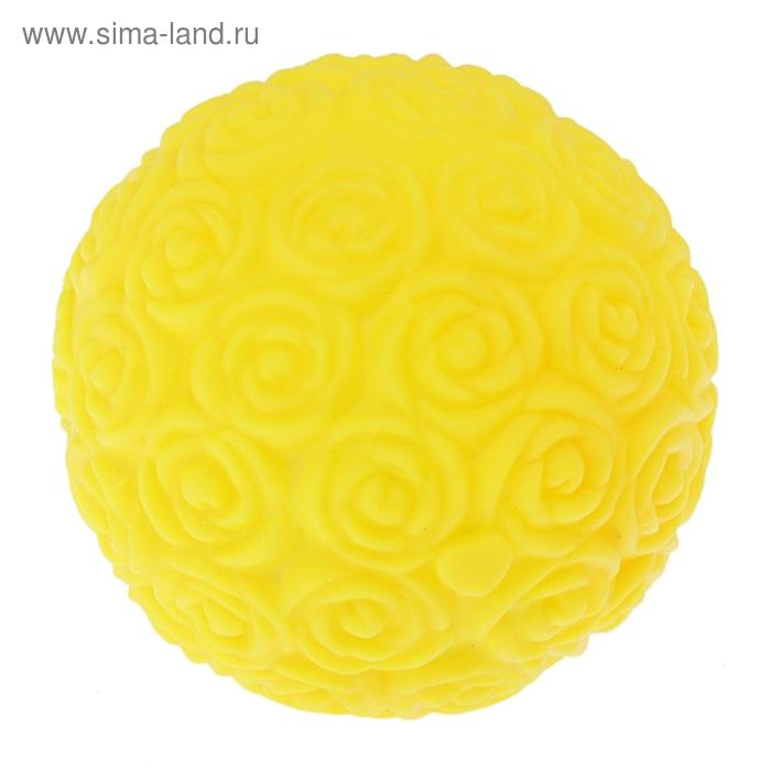 """Ночник """"Желтый шарик из роз"""""""