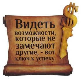 """Магнит денежный """"Видеть возможности"""""""