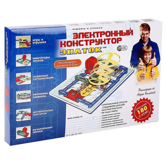 """Электронный конструктор """"180 схем"""""""
