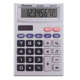 Калькулятор настольный 08-разрядный PS-269A двойное питание Ош