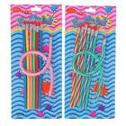 Набор карандашей чернографитных Гнущиеся с ластиками 07шт МИКС на блистере
