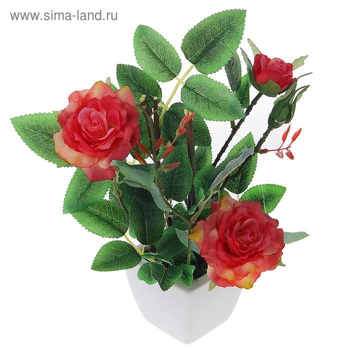 "Композиция ""Цветущая роза"" (микс)"