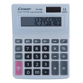Калькулятор настольный 12-разрядный CN-1880 двойное питание Ош
