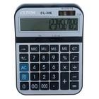 Калькулятор настольный 16-разрядный CL-326 двойное питание