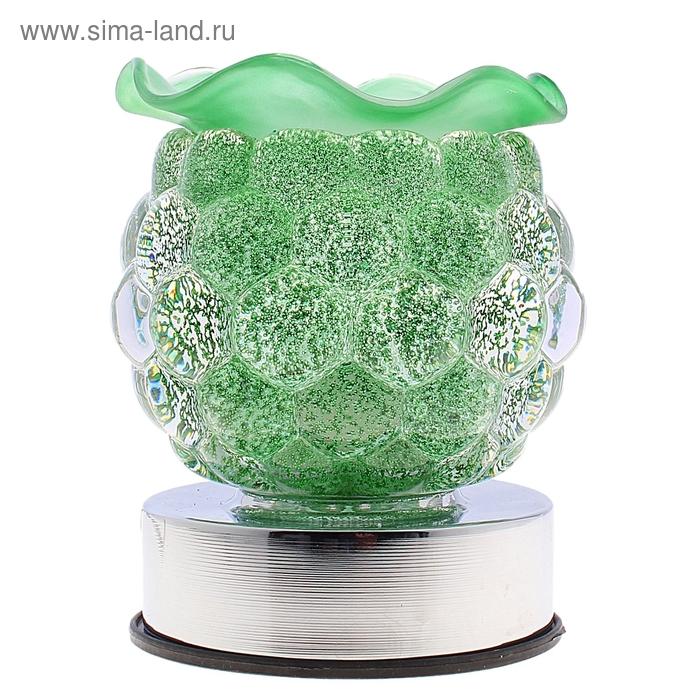 """Аромалампа """"Волшебная ягодка"""" зеленая, сенсор"""