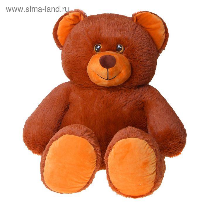 """Мягкая игрушка """"Медведь"""", цвет темно-коричневый"""