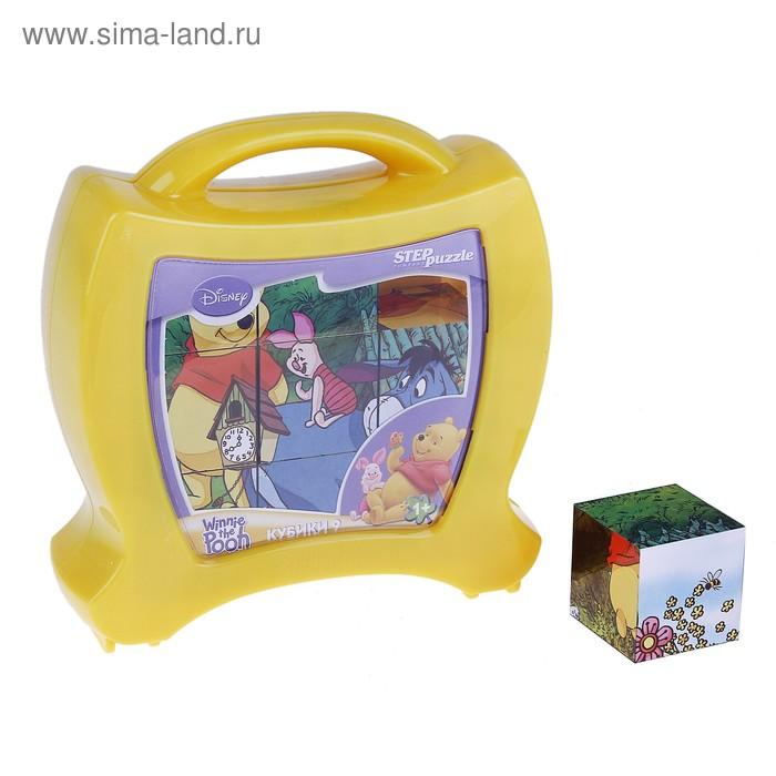 "Кубики ""Медвежонок Винни"", 9 штук"