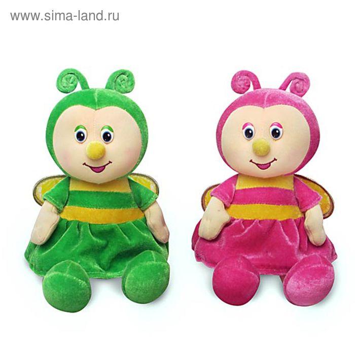 Мягкая музыкальная игрушка «Бабочка малая», цвета МИКС