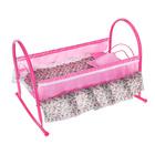 Кроватка-качалка для кукол № 5, цвета МИКС