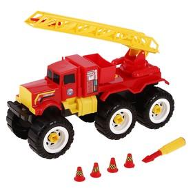 Машина пожарная с ключом
