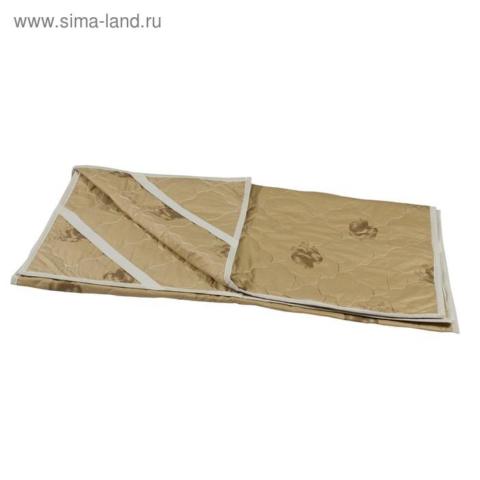 Наматрасник стеганный Миродель верблюжья шерсть 90*200 см, тик