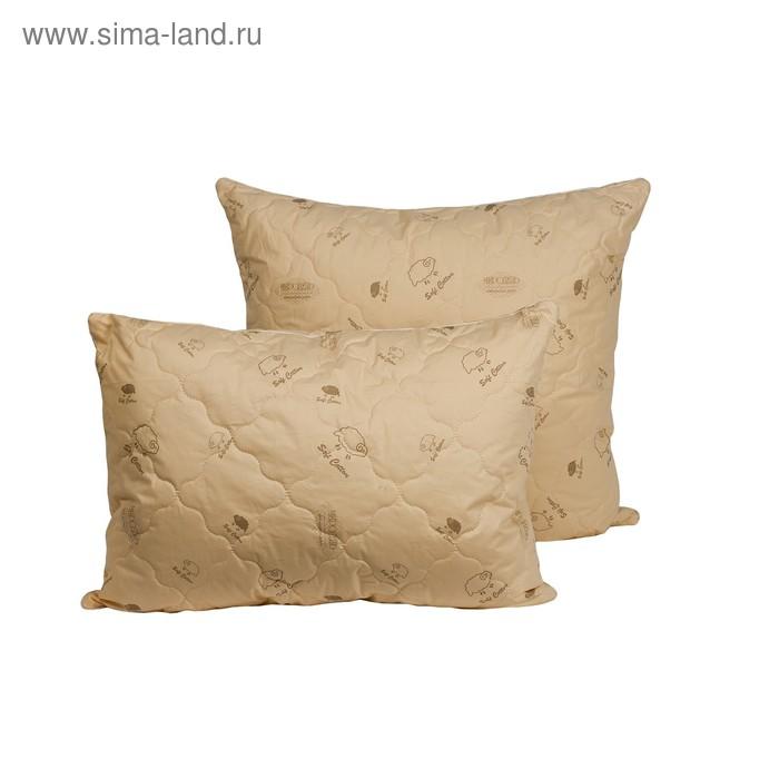 Подушка Миродель Овечья шерсть 50*70 см, овечья шерсть, тик