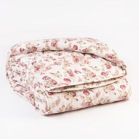 Одеяло Миродель теплое, синтетическое 175*205 ± 5 см, холофан, п/э чехол цвета МИКС, 250 г/м2 Ош